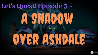 A shadow over ashdale