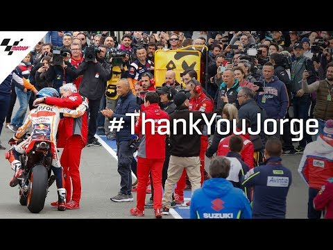 The final farewell of a legend #ThankYouJorge