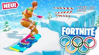 Olympische Winterspiele in Fortnite Creative! (Wer gewinnt?)