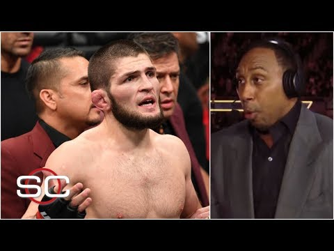 Stephen A. reacts to Khabib Nurmagomedov attacking Conor McGregor's team at UFC 229 | SportsCenter