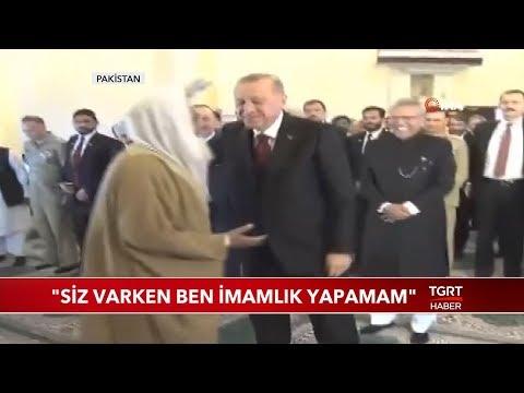 Cami İmamı Cumhurbaşkanı Erdoğan'ın Namazı Kıldırmasını İstedi