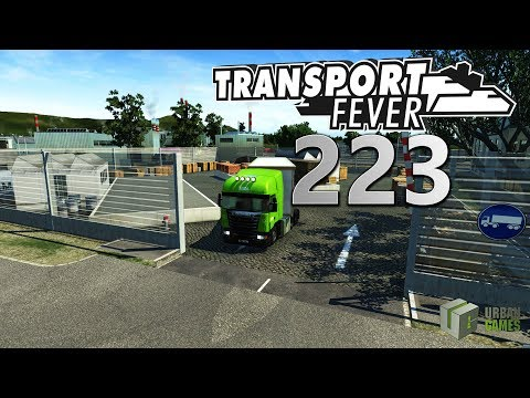 Verkehrsglättung 🚆 ► [223] ► Let's Play Transport Fever German