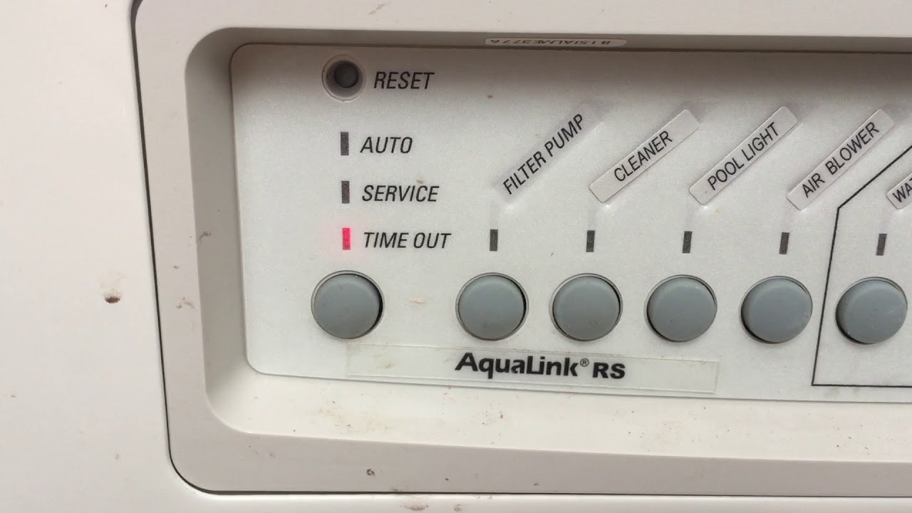 Jandy RS Pool Controller How it works and how to operate your pumps on
