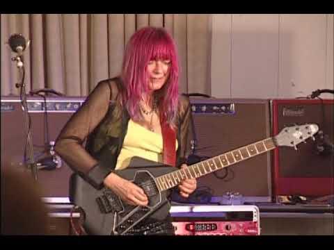 Female Guitarist Shredmistress Rynata NAMM 2007 Guitar Geek Festival