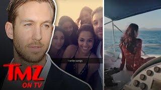 Calvin Harris Is Only Dating Regular Girls Now | TMZ TV