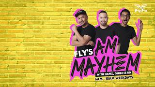 Download lagu Fly's AM Mayhem does Stand Up comedy