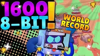 1600 8 BIT GAMEPLAY HIGHEST BRAWLER EVER