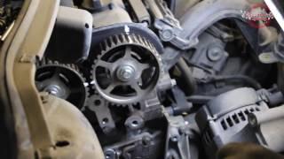 Пример замены ремня ГРМ на Ford Focus
