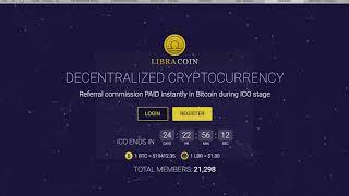 ExaCoin Как купить монеты? 7 LibraCoin и BitcoinFor
