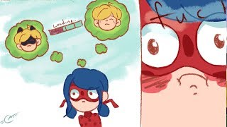 MARINETTE FIGURED CHATNOIR IDENTITY【Miraculous Ladybug Comic Dub Compilation