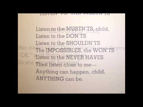 100 Books You Must Read - #97 - Where The Sidewalk Ends by Shel Silverstein