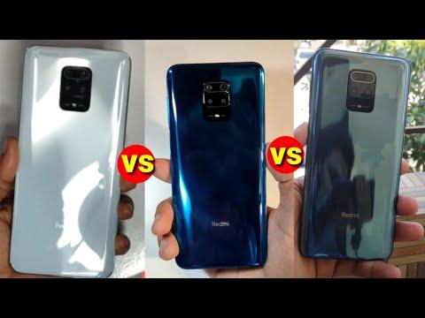 Redmi note 9 Pro/Max Colour Comparison | Aurora Blue vs Black vs Glacier White colour unboxing
