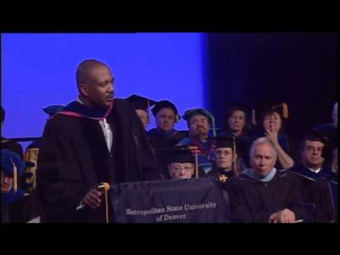 Metropolitan State University of Denver Commencement Speech Fall 2012