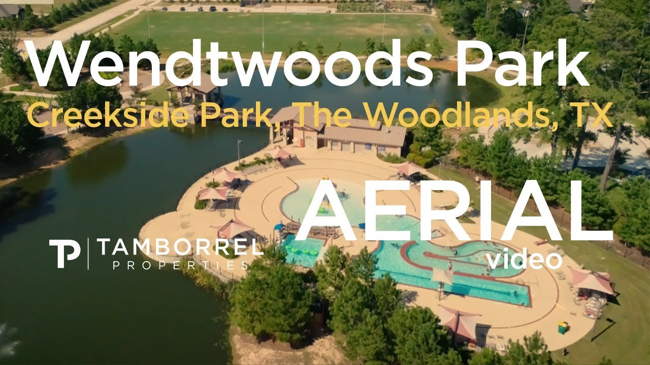 Tamborrel Aerial Views Wendtwoods Park Creekside