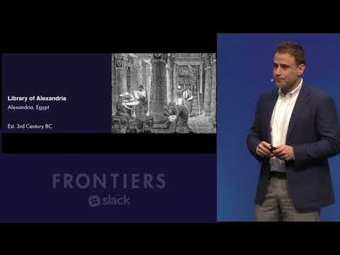 Frontiers by Slack 2017 - Morning Keynote: September 12, 2017