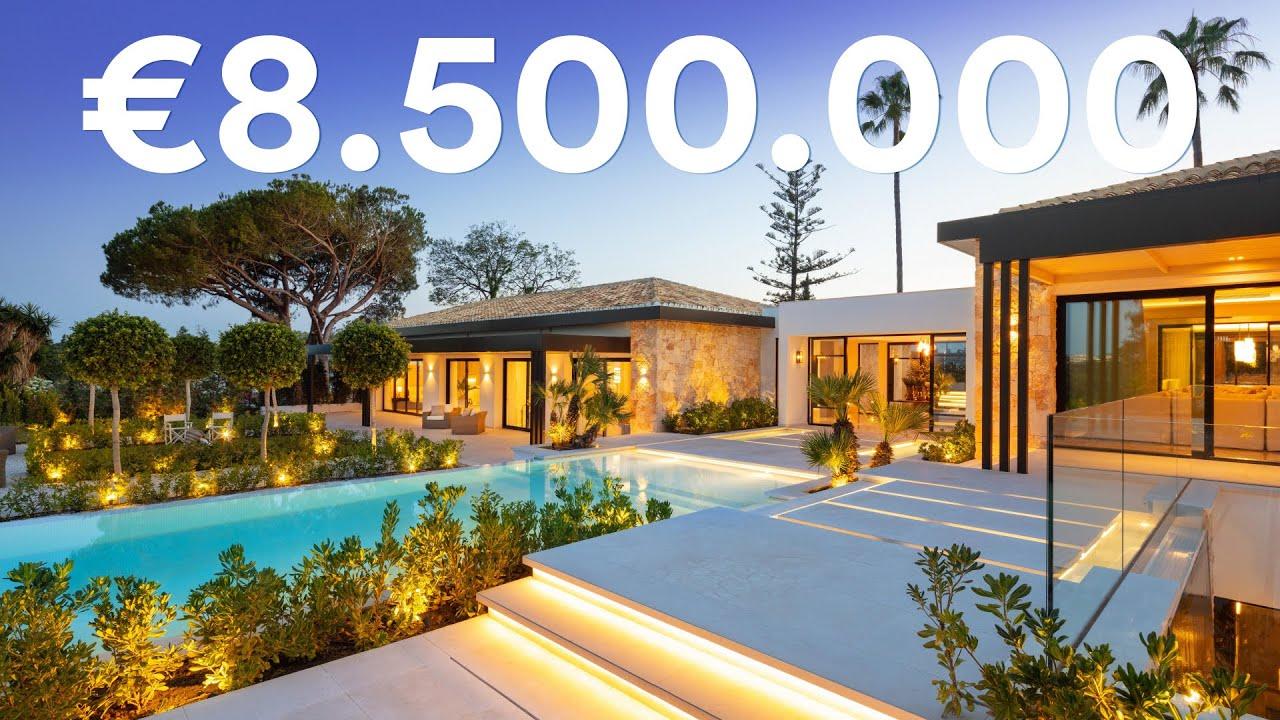 New €8.500.000 Frontline Golf Modern Villa in Marbella, Nueva Andalucia | Drumelia Real Estate