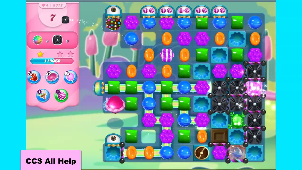 Download Candy Crush Saga Level 9317 NO BOOSTERS Cookie