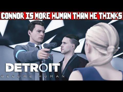 Connor Refuses to Shoot Another Android DETROIT BECOME HUMAN