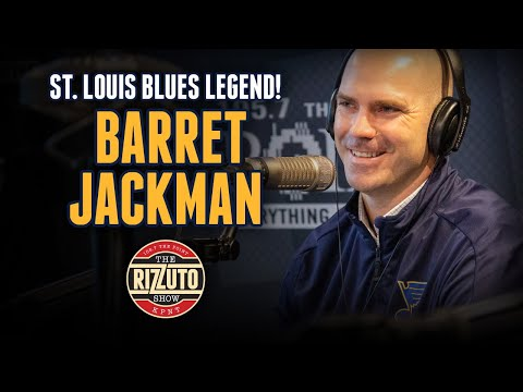 BLUES legend, Barret Jackman talks NHL All-Star Game, St. Louis hockey & more! [Rizzuto Show]