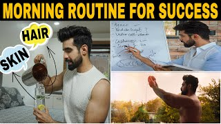 Perfect Morning Routine| SHOWER ROUTINE|SKINCARE HACKS|HAIR CARE| How to be successful in life?