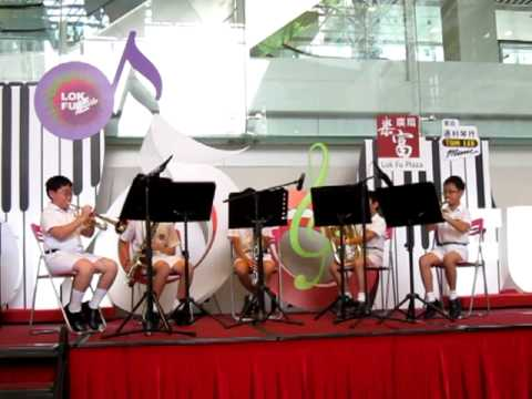First Ensemble (Primary) from Munsang College @ Lok Fu Plaza - 20110618