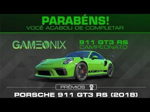 Real Racing 3 Porsche 911 GT3 RS (2018) Circuit Des 24 Heures (Noite)