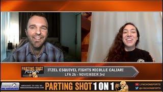 LFA 26's Itzel Esquivel talks Nicolle Caliari matchup, Halloween and Sons of Anarchy