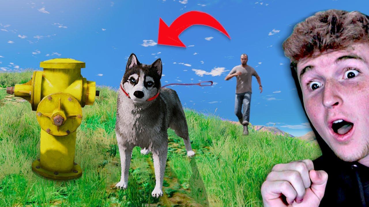 Playing GTA 5 As An ANIMAL.. thumbnail