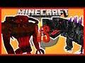 Minecraft - RAHOVART KING OF THE UNDERWORLD VS  MOBZILLA KING OF MONSTERS (LYCANITES VS ORESPAWN)