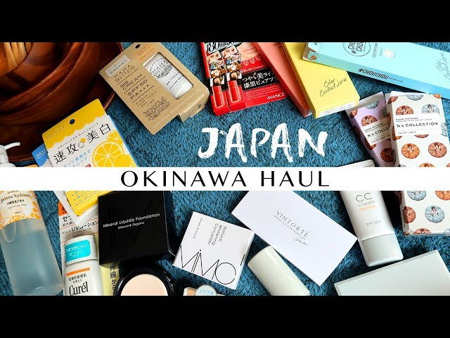 Japan Okinawa Haul 2018 | ?? Gobby