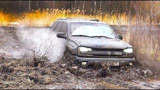Chevrolet Trailblazer Налог и роскошь по Американски.  Плюсы и минусы авто.