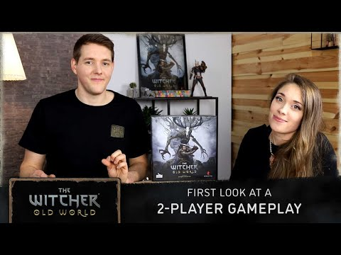 The Witcher: Old World - First Look At A 2-player GAMEPLAY