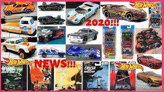 Hot Wheels 2020 Super Treasure Hunt, New 2020 Cars, Premium Set, 5 Packs,... Hot Wheels News!!!