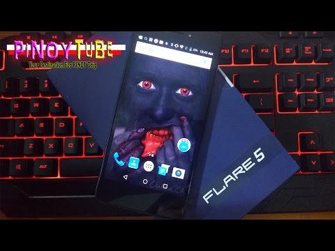 Cherry Mobile Flare 5 Tagalog Unboxing & First Impression - Pinoytube