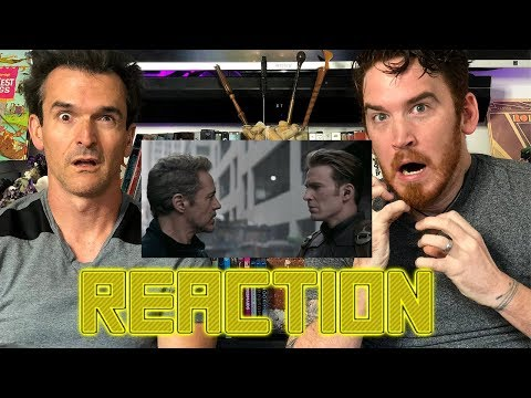 AVENGERS: ENDGAME   SPECIAL LOOK REACTION!!!