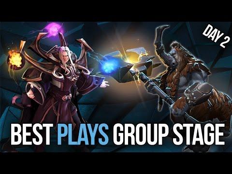 Dota 2 Best Plays of Kiev Major - Group Stage Day 2