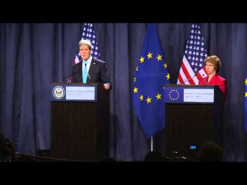 Ukraine talks in Geneva, Press conference Ashton & Kerry