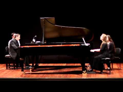 Pedro Macedo Camacho - Integration I for two pianos (O'Hea/Andres Duo)