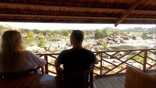 Индия-отдых в отелях на берегу реки.Обзор.
