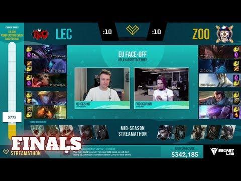 LEC Kings Vs The French Zoo | Final EU Face-Off 2020 | France Vs Europe
