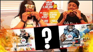 The HOTTEST Madden Cover Trivia Ever! (4.5 Million Combined Scoville Units)