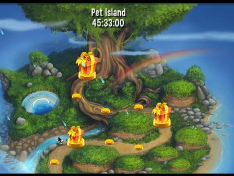 Pet rescue saga pet island 30th may level 1 youtube for Pet island level 4