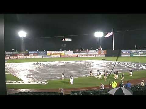 Game Two Of The Series Between The Bridgeport Bluefish And Somerset Patriots
