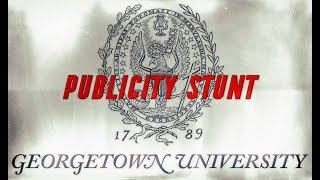Georgetown Publicity Stunt: Lawsuit Served to Media, Not Defendants thumbnail