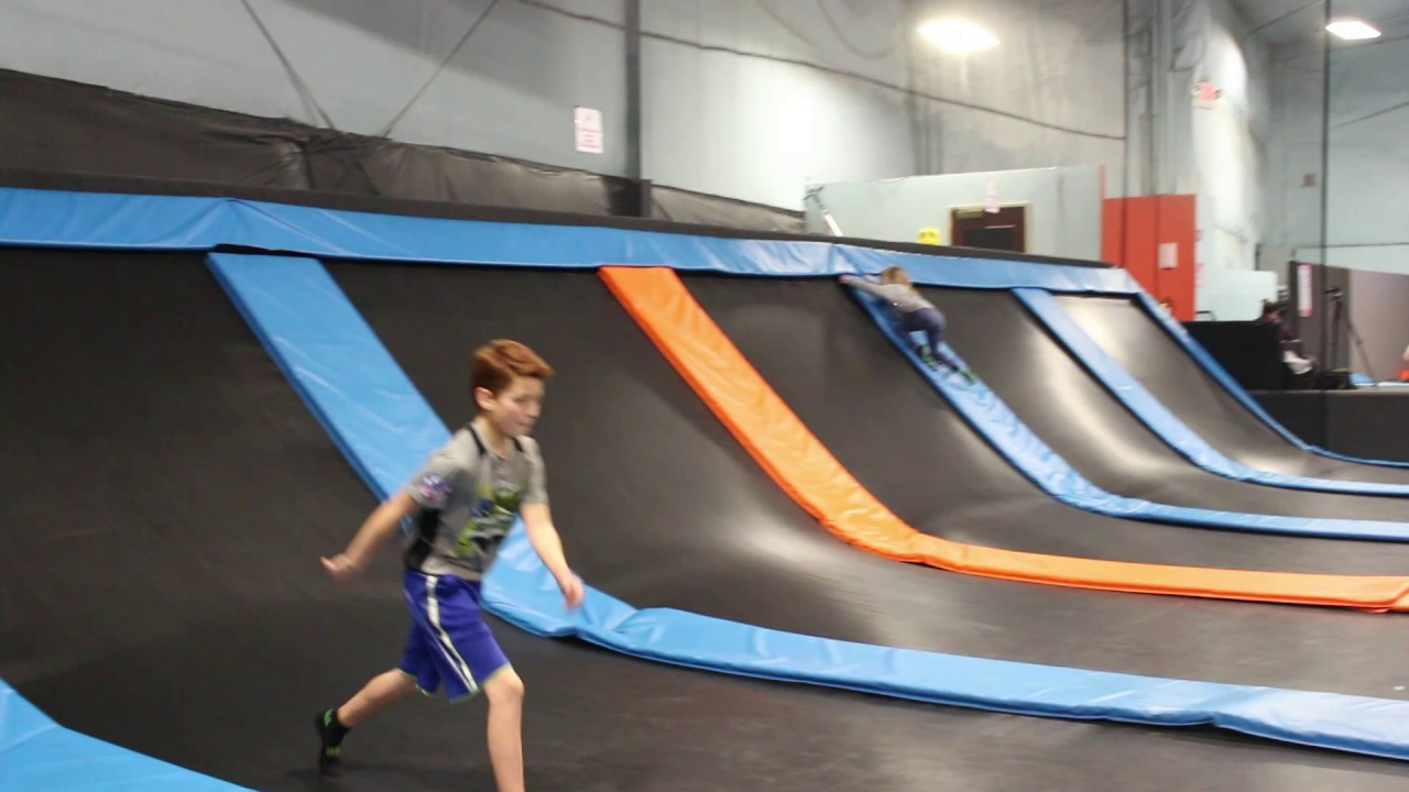 get air trampoline park tricks youtube. Black Bedroom Furniture Sets. Home Design Ideas
