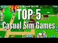 Top 5: Casual Simulation Browser Games