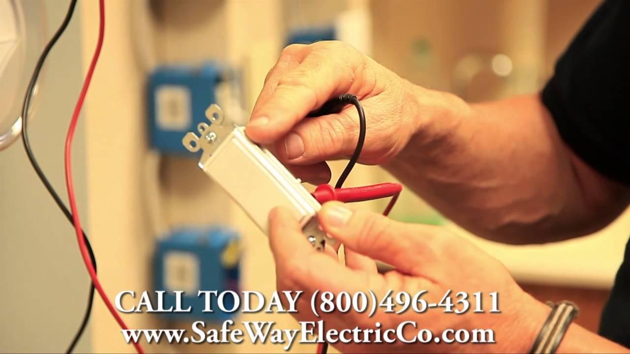 3 Way Switch Wiring Testing