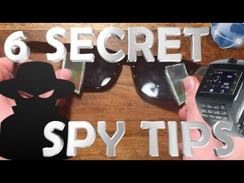 6 Easy Spy Tricks With Household Items