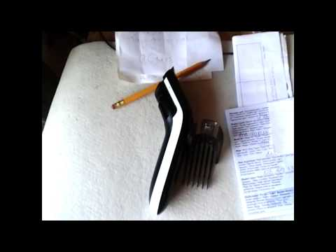 Машинка для стрижки волос Philips QC 5115. Что делать если сломалась насадка .
