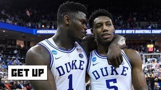 Zion has injury concerns, RJ Barrett is built for the next level - Jay Williams | Get Up Video
